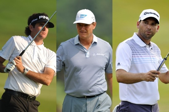 Bubba Watson, Ernie Els and Sergio Garcia will line-up at the 2013 CIMB Classic ©Khalid Redza/Asian Tour