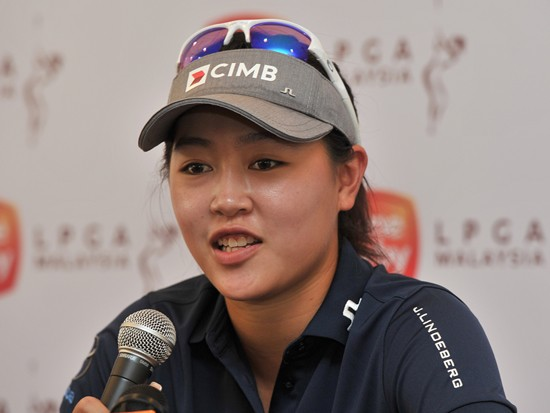 Kelly Tan is the only Malaysian on the LPGA Tour