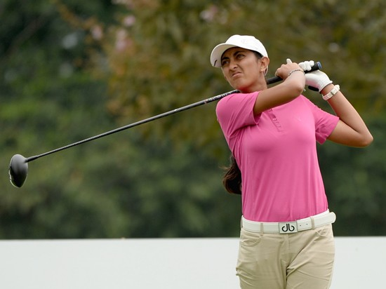 Amateur Aditi Ashok is the first Indian player to tee-off at the Sime Darby LPGA ©IMG