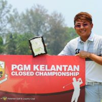 Nicholas Fung's win in Kota Bharu was his 14th on the PGM Tour ©Arep Kulal|PGM Tour