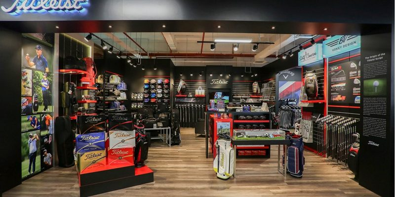 The new Titleist brand store at MST Golf's Subang Jaya SuperStore