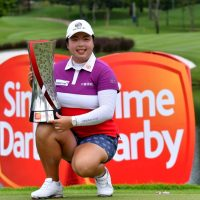 Shanshan Feng is the first two-time winner of the Sime Darby LPGA Malaysia ©Mike Casper TCH