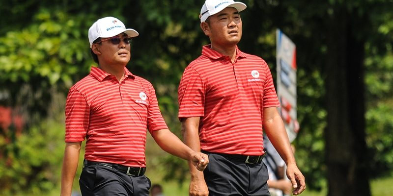 Nicholas Fung and Danny Chia will hope to re-kindle their successful EurAsia Cup partnership © Mike Casper TCH